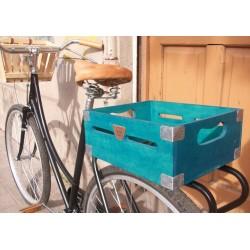 Cajones de madera para bicicleta Hocico Rosa