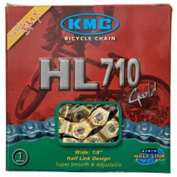 Cadena KMC HL710 Medio Eslabon Single Speed