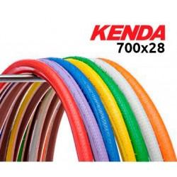 Cubierta Kenda Kwest Colores Fixie 700x28
