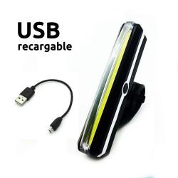 Luz Delantera Led Recargable USB