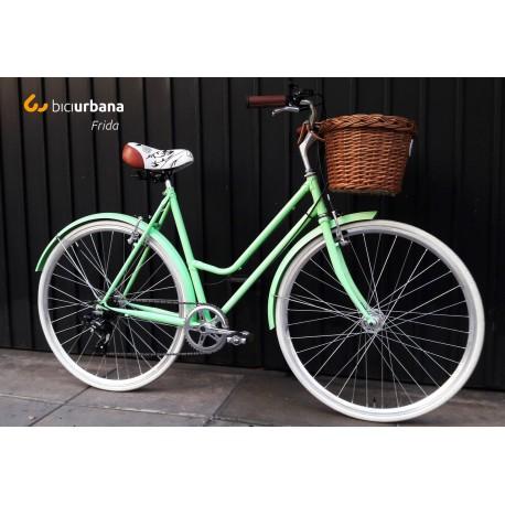 Bicicleta Vintage Retro Modelo Frida - Dama