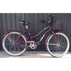 Bicicleta Usada de Paseo con Canasto R26