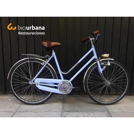 Bicicleta Inglesa de mujer Pintada y Restaurada