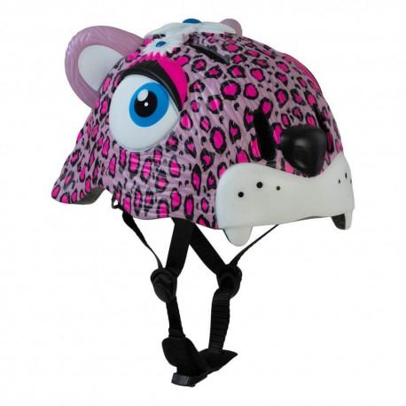Casco Para Chicos Crazy Safety Pink Leopard
