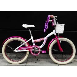 Bicicleta Usada Raleigh Jazzy Rodado 20 Aluminio