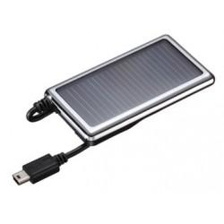 Cargador con panel solar usb