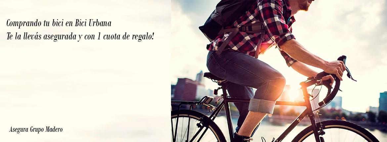 Aseguramos tu bici y te devolvemos la primera cuota!