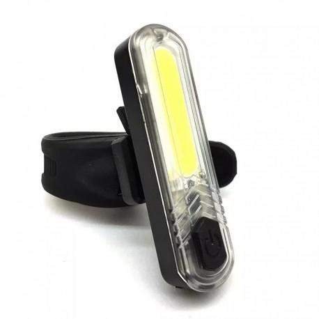 Luz Delantera Recargable por USB Moon Cob