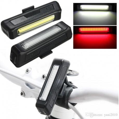 Luz Led Recargable USB Doble Color