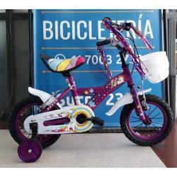 Bicicleta Nena Rodado 12 Jordan Unicornio