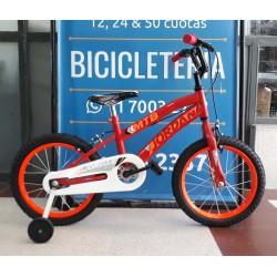 Bicicleta Nene Rodado 16 Jordan