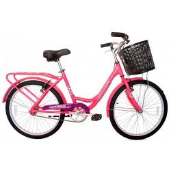 Bicicleta Rodado 24 Skinred Confort de Aluminio