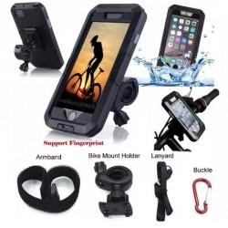 Portacelular Iphone Samsung Impermeable para Manubrio