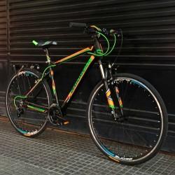 bicicleta híbrida urbana Diamondback Trace 700x35