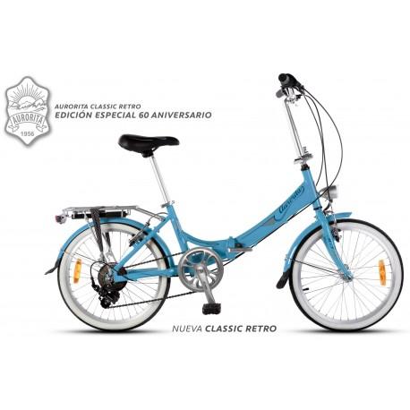 Bicicleta Plegable Aurorita Classic