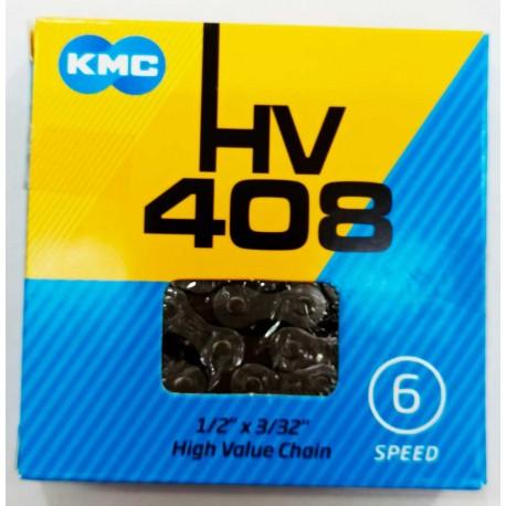 Cadena KMC HV-408 6 Velocidades