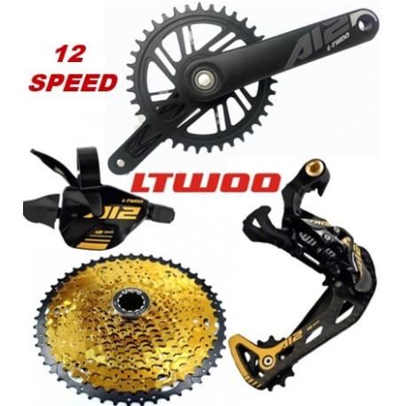Grupo LTWOO MTB 1x12 A12 GOLD