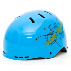 Casco Mountainpeak color celeste