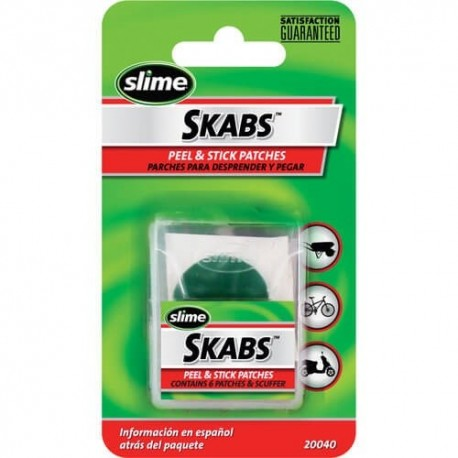 Kit de parches preencolados Slime
