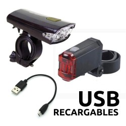 Kit de luces Recargables USB