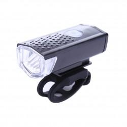 Luz Led Delantera Recargable por USB 300 Lumens
