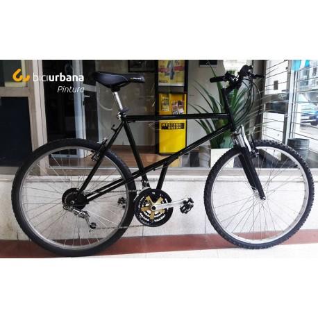 Bicicleta MTB con trabajos de Pintura y Mecánica
