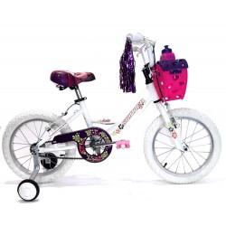 Bicicleta Skin Red Lola Rodado 16