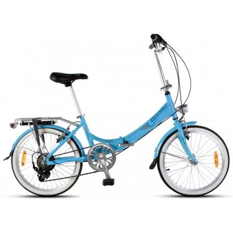 Bicicleta Plegable Aurorita Classic retro