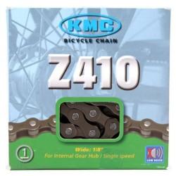 Cadena KMC Z410 Single Speed