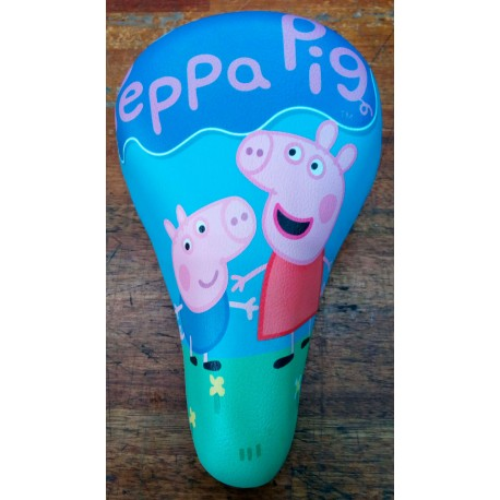 Asiento bici chicos peppa pig
