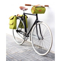 Alforja vintage para bicicieta Happy Together