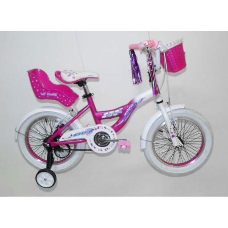 Bicicleta rodado 16 para nena Raleigh Honey Usada