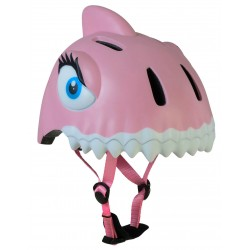 Casco Para Chicos Crazy Safety Pink Shark
