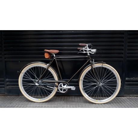 Bicicleta Vintage Restaurada Fileteada