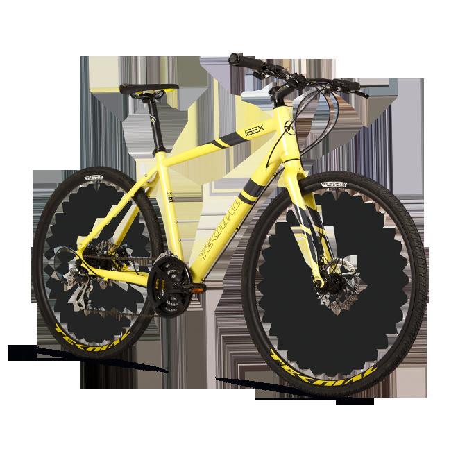 Teknial Ibex bicicleta Híbrida