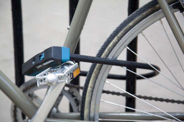Cadena para atar bicicleta seguridad robo