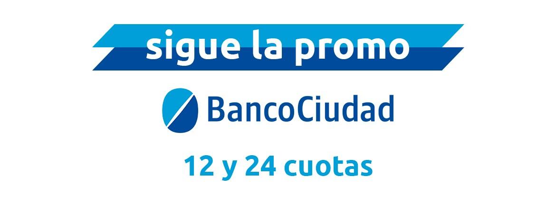 12 y 24 cuotas con Banco Ciudad