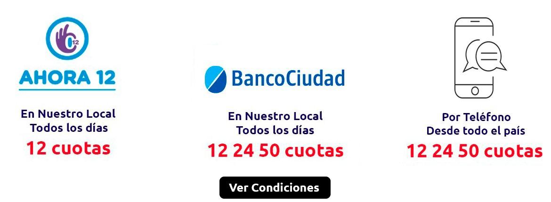 12 24 50 CUOTAS BANCO CIUDAD