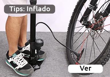 Consejos: ¿cómo inflar una bicicleta?